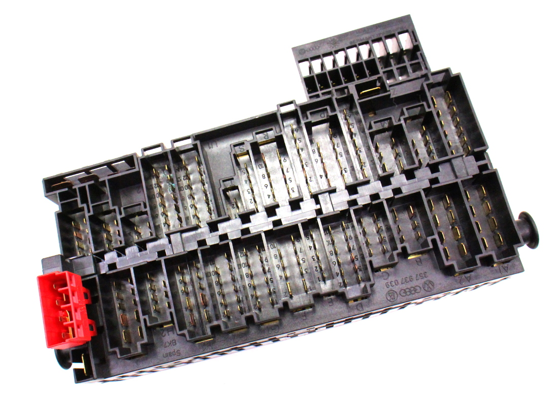 Dash Relay Board Fuse Panel Box Vw Jetta Golf Gti Cabrio