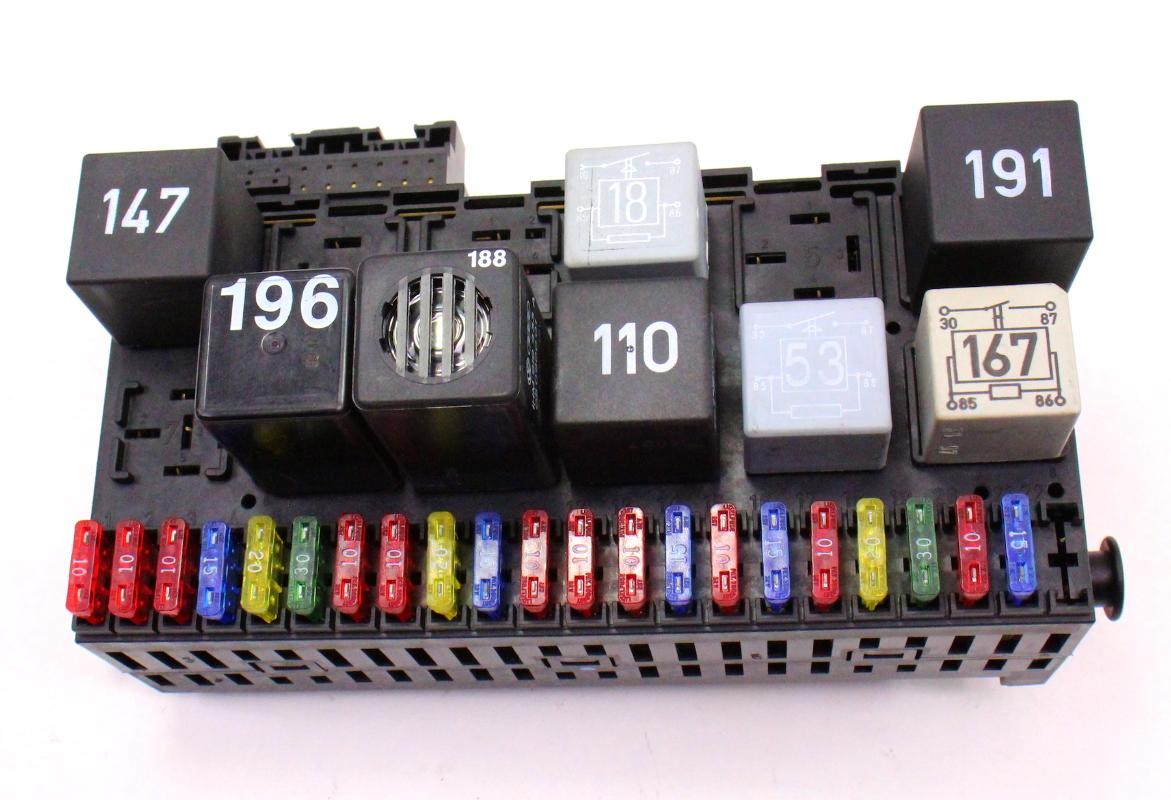 dash relay board fuse panel box vw jetta golf gti cabrio. Black Bedroom Furniture Sets. Home Design Ideas