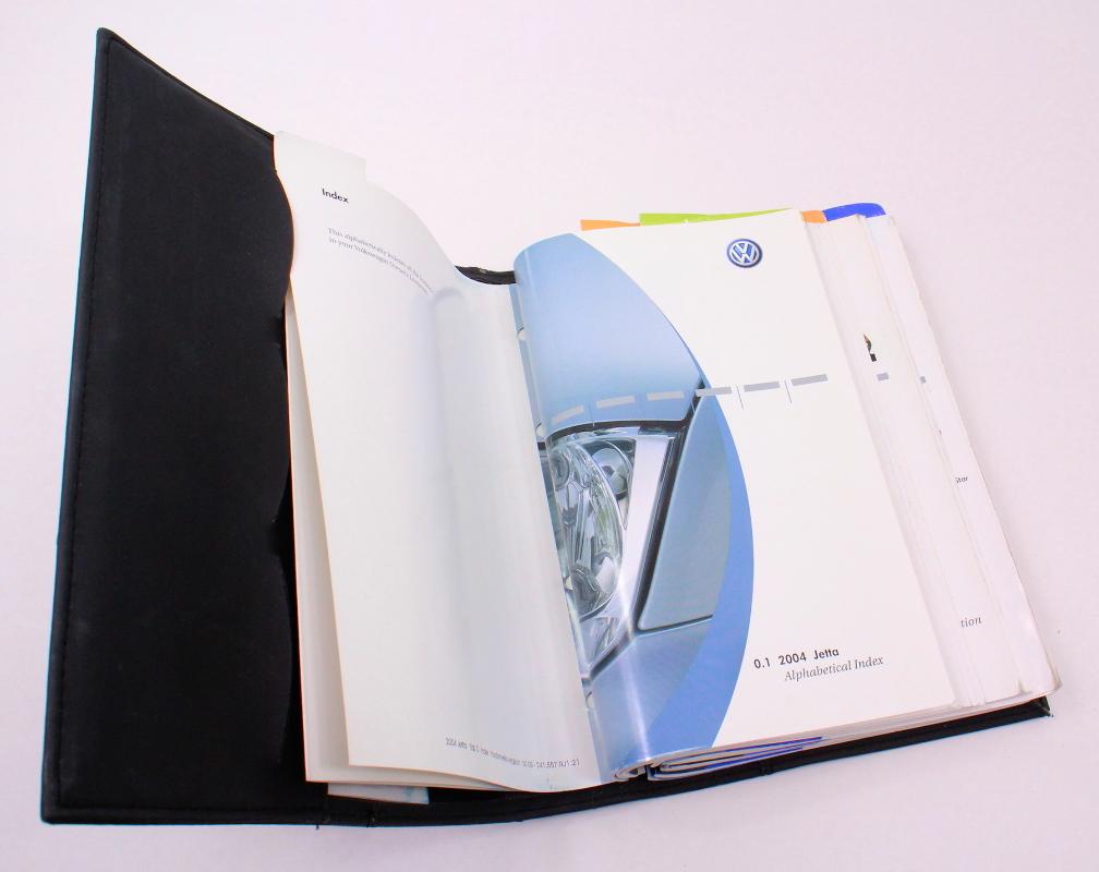 ... 2004 Volkswagen VW Jetta Owners Manual Book Booklet MK4 - Genuine ...