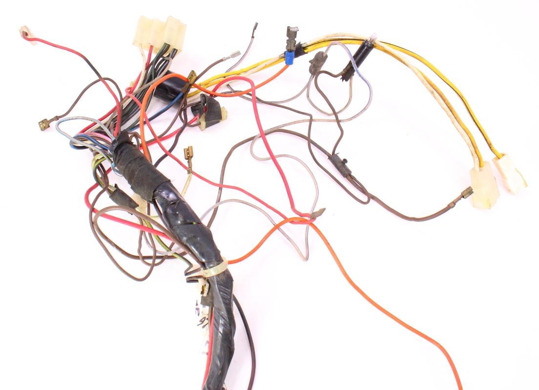 dash interior wiring harness 81-84 vw rabbit mk1 diesel - genuine - 175  971
