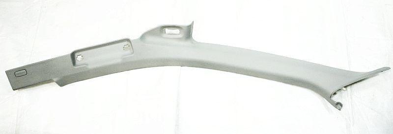 LH A Pillar Trim Gray Platinum Gray 02-08 Audi A4 S4 B6 - Genuine - 8E0 867 233