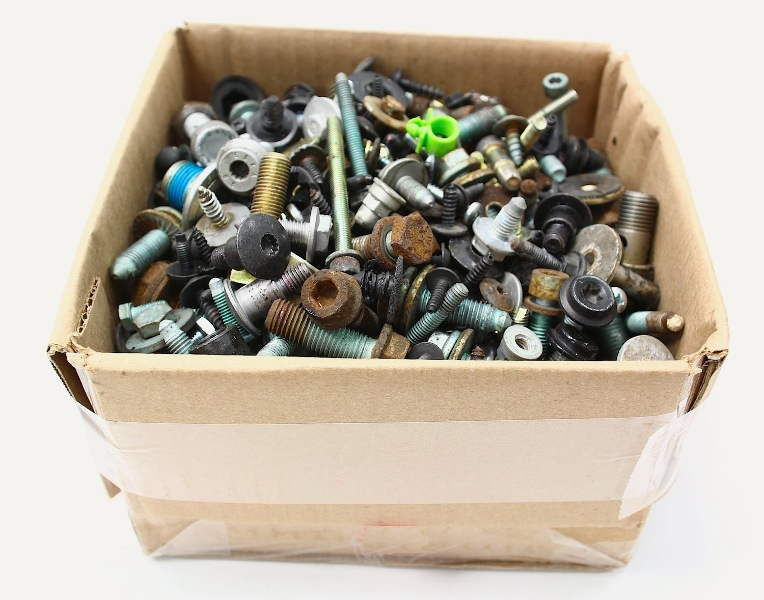 Hundreds Nuts Bolts Screws Hardware For 11-18 VW Jetta Sportwagen MK6 - Genuine