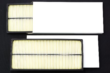 2x NOS Beck Arnley Air Filter Fits 00-03 Subaru Impreza Legacy Forester 042-1625