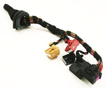 CCM Comfort Control Module Plugs Pigtails 02-05 Audi A4 B6 - Genuine