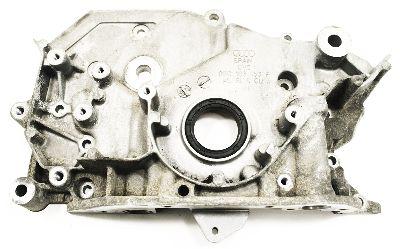 Front Crank Seal Flange Plate 3.0 V6 Audi A4 A6 - Genuine - 06C 103 153 F