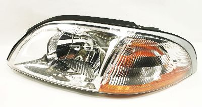 LH Headlight Head Light 01-03 Ford Windstar Van Driver - Genuine