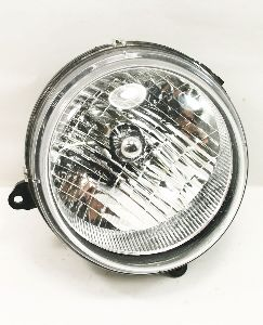 LH Driver Headlight Head Light Lamp 02-04 Jeep Liberty - Genuine - 55155809AB