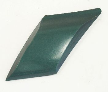 LH Rear Small Quarter Moulding Trim 95-99 Jetta Golf MK3 LG6S Green - Genuine