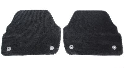 Rear Floor Mat Set Audi A6 C5 Allroad - Black - Carpet Mats - Genuine