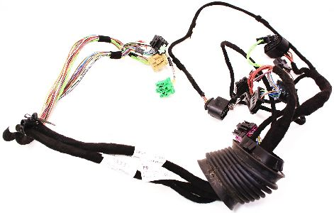 rh front door wiring harness 02-04 audi a6 s6 rs6 c5 allroad - 4c0 971 029  d | carparts4sale, inc