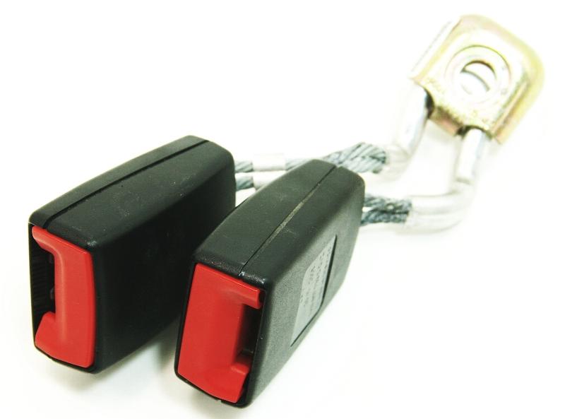 LH Rear Seatbelt Receiver 05-09 VW Jetta Rabbit GTI MK5 Seat Belt 1K0 857 739 H