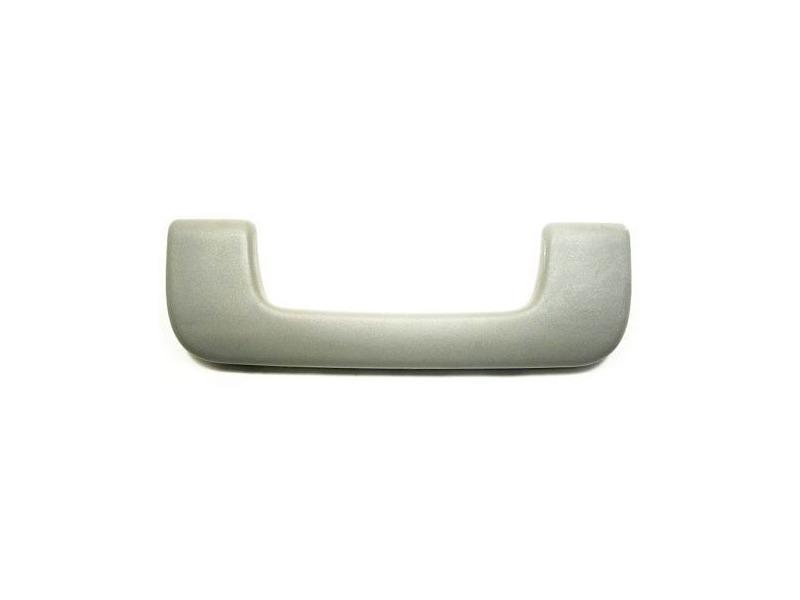 Front Interior Upper Grab Handle Gray 05-08 Audi A4 B7 - Genuine - 8E0 857 607 C