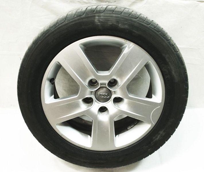 """16"""" 5x112 Fundo Alloy Wheel Rim Full Size Spare & Toyo Tire 02-06 Audi A4 B6"""