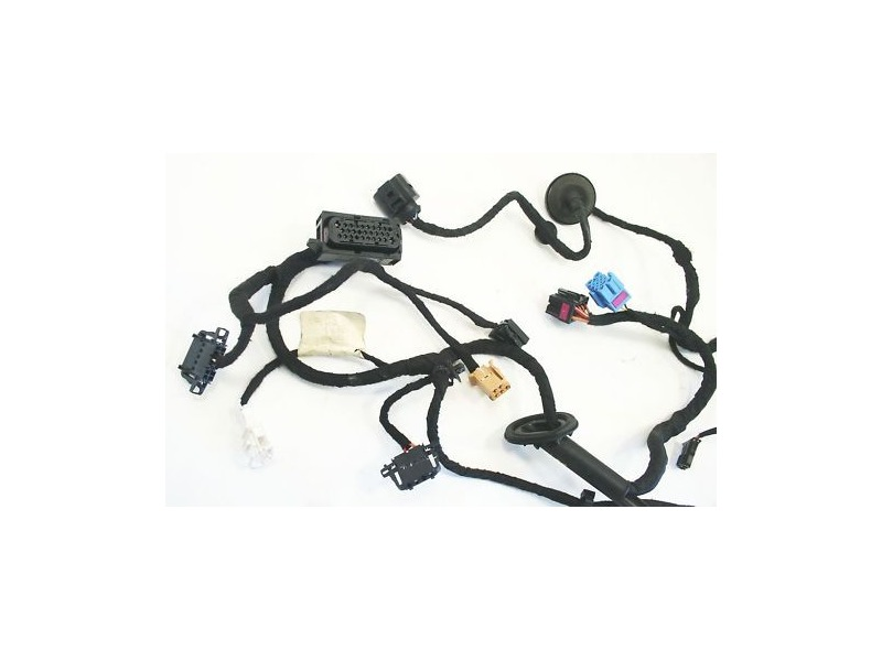 rh front door wiring harness 99 05 vw jetta golf gti mk4 1j0 971 rh ebay com vw jetta door wiring harness vw mkv door wiring harness