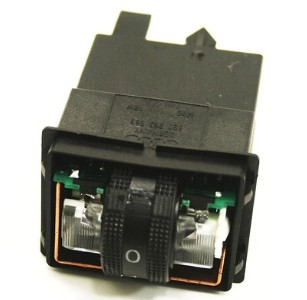 Rear Heated Seat Switch 02-05 Audi A4 B6 - 8E0 963 563 - Genuine