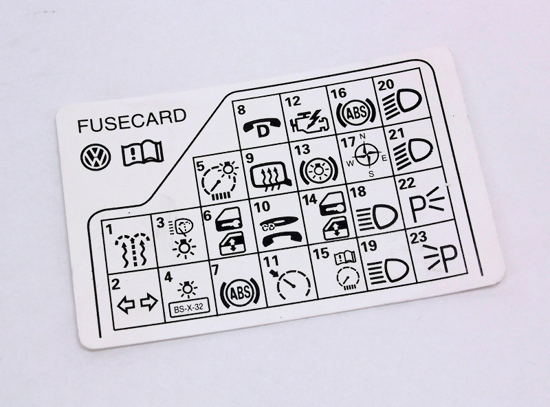 Fuse panel diagram key card 98 05 vw passat b5 genuine 3b0 010 fuse panel diagram key card 98 05 vw passat b5 genuine 3b0 010 241 f ccuart Gallery