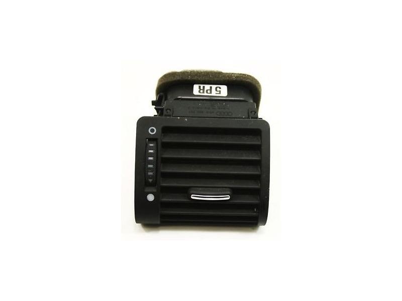 Upper Dash Vent 00-03 Audi A8 S8 D2 - Black - Genuine - 4D0 820 901 J