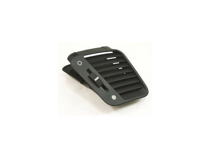 RH Upper Dash Vent 00-03 Audi A8 S8 D2 - Black - Genuine - 4D0 819 794 B