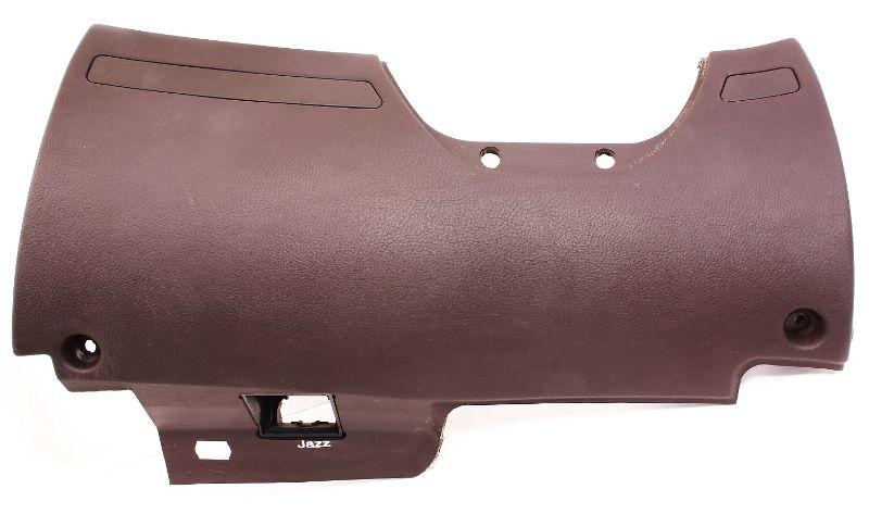 LH Lower Dash Panel Knee Bar 00-03 Audi A8 S8 D2 - Brown - 4D1 880 301