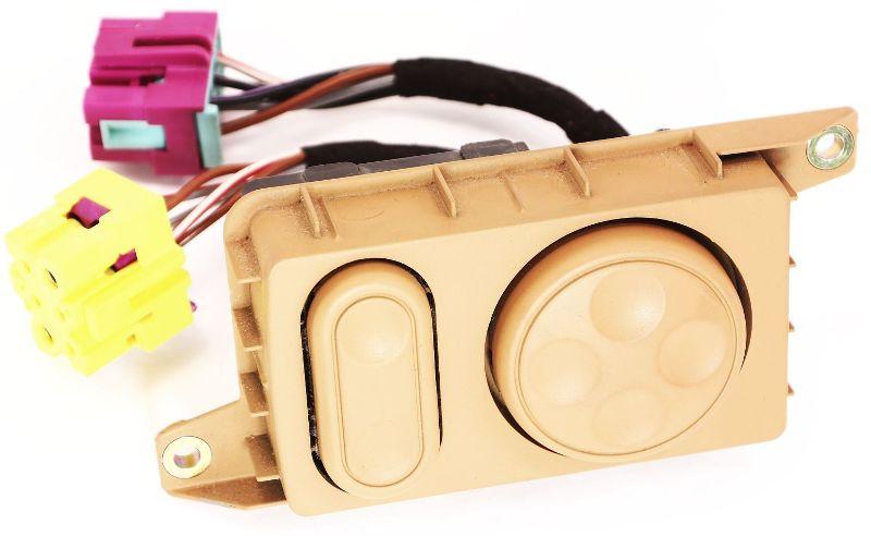 Seat Lumbar Switch Controls 00-03 Audi A8 S8 D2 - Genuine - 4D0 959 777 A