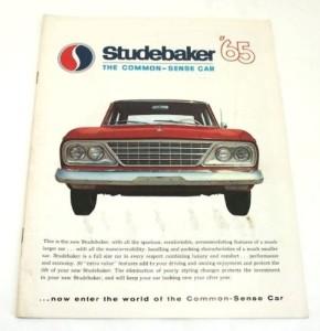 Original Dealer Showroom Brochure - 1965 Studebaker