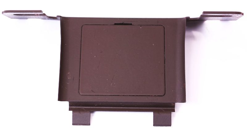 Phone Plug Cover Trim 00-03 Audi A8 S8 D2 - Jazz Brown - Genuine - 4D0 862 399