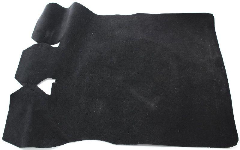 Trunk Floor Carpet Mat 93-99 VW Jetta MK3 - Black - Genuine OE Volkswagen