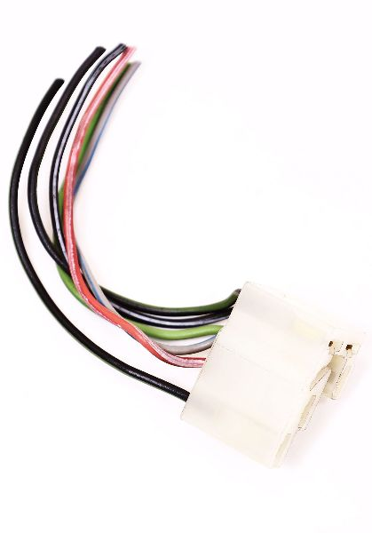 hazard light switch wiring plug pigtail vw jetta rabbit gti mk1 rh ebay com vw light switch wiring vw brake light switch wiring