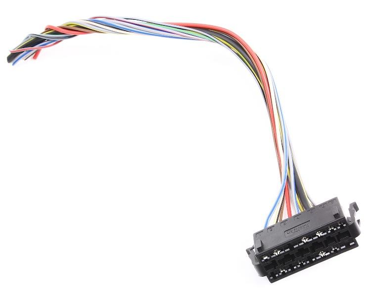 Headlight Switch Wiring Plug Pigtail 95-97 VW Passat B4 - Genuine | eBay