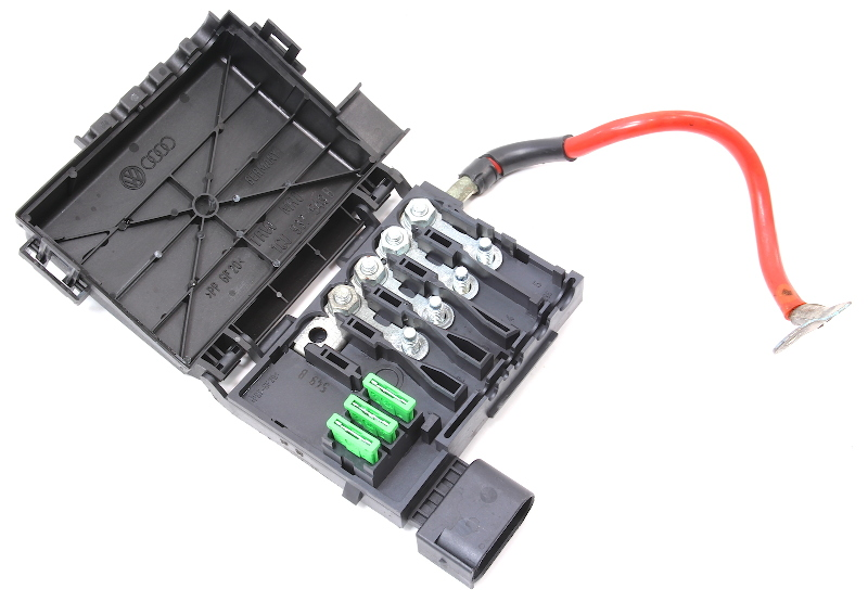 battery distribution fuse box vw jetta golf gti beetle mk4 ... 2002 gti fuse box