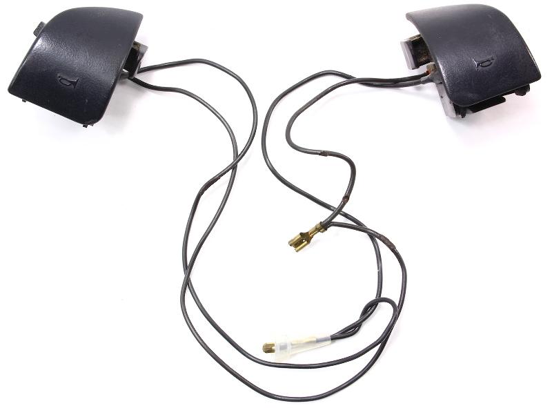 Steering Wheel Horn Buttons VW 96-99 Jetta Golf GTI Cabrio MK3 - Genuine