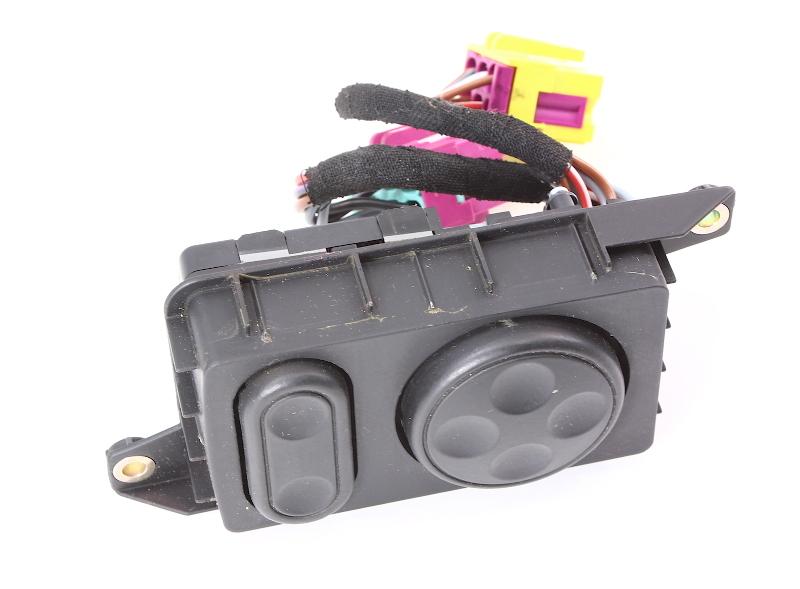 Power Seat Lumbar Switch Controls 00-03 Audi A8 D2 - 4D0 959 777 A
