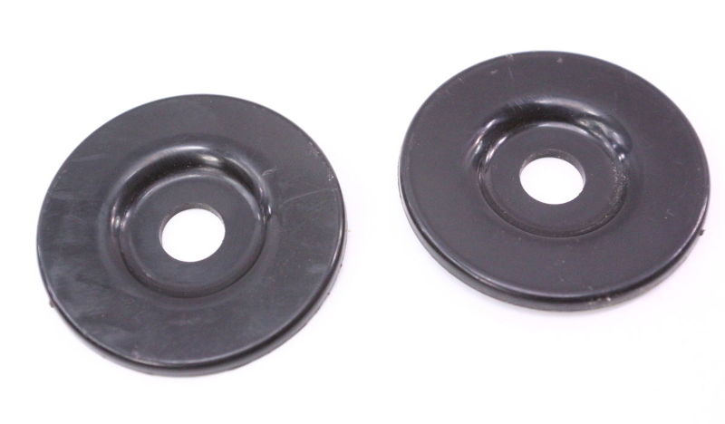 Trim Cap Cover Pair 80-91 VW Vanagon T3 Transporter - Genuine - 411 857 781
