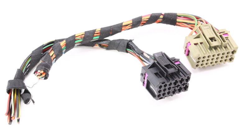 ccm comfort control module wiring plugs pigtail 99 05 vw jetta golf 96 audi a4 radio wiring harness ccm comfort control module wiring plugs pigtail 99 05 vw jetta golf mk4 beetle
