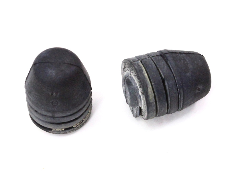 Trunk Lid Rubber Bump Stop Adjusters 11-18 VW Jetta MK6 Sedan - Genuine