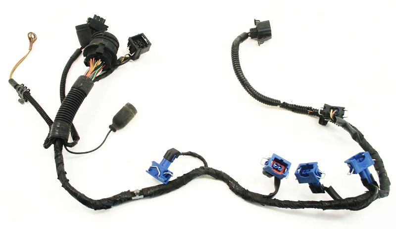Engine Wiring Injector Harness OBD2 2.0 ABA 96-99 VW Jetta Golf GTI on wire nut, wire connector, wire cap, wire clothing, wire sleeve, wire holder, wire lamp, wire leads, wire antenna, wire ball,