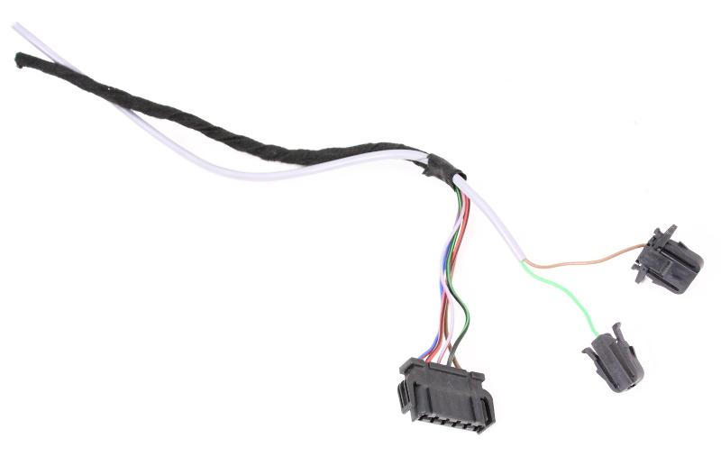 RH Taillight Wiring Plug Pigtail 01-05 VW Passat Wagon - Genuine