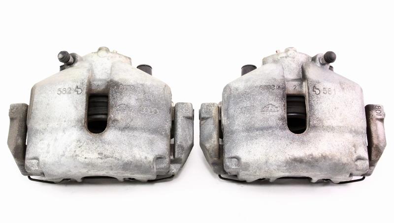 Front Brake Caliper & Carrier Set 06-09 VW Jetta MK5  - Genuine