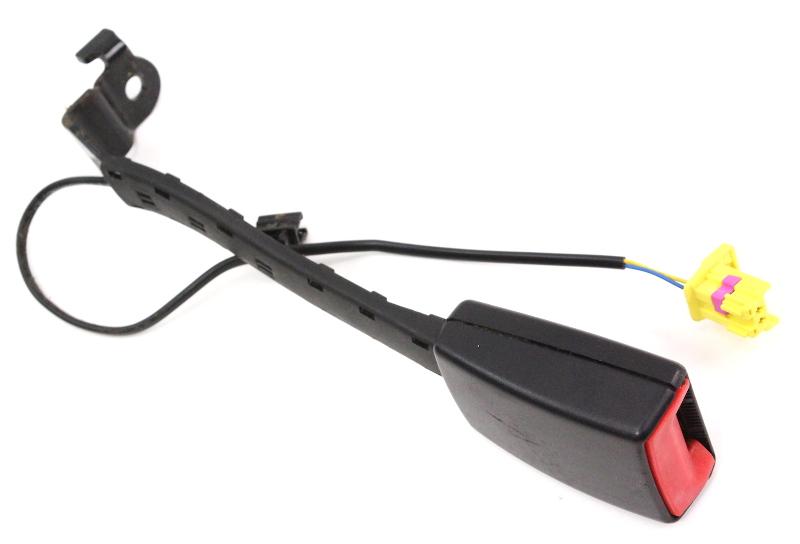 LH Front Seat Belt Receiver 08-10 VW Jetta Rabbit Golf GTI MK5 - 1K4 857 755 L