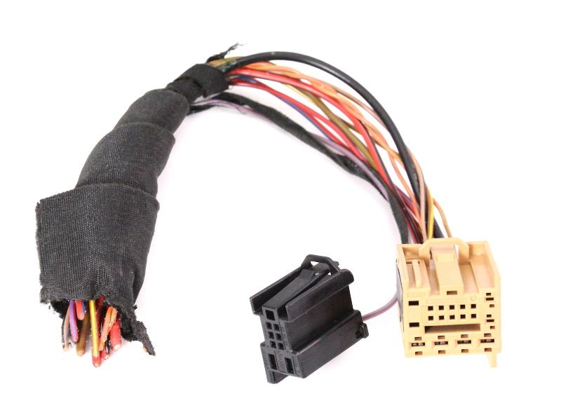 CCM Comfort Module Plugs Pigtail 05-10 VW Jetta Rabbit Golf GTI MK5 1K0 972 930
