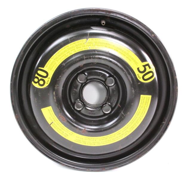 "14"" x 3.5"" Spare Wheel Rim Donut VW Jetta Golf GTI Cabrio MK3 - 1H0 601 027 C"
