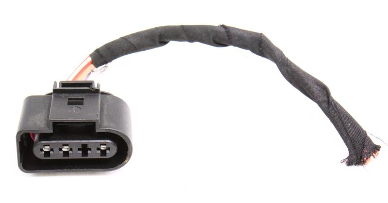 Wiper Motor Pigtail Plug Connector VW Jetta Rabbit Golf MK5 Audi A3  1J0 973 724