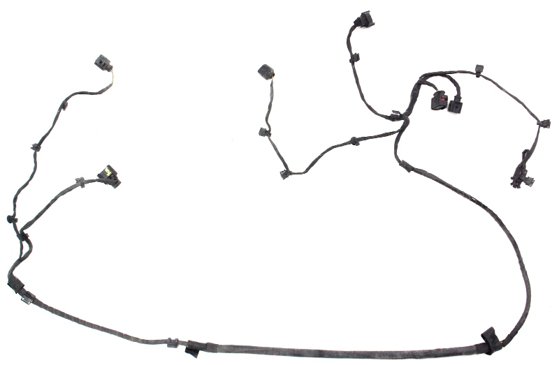 Front Bumper Wiring Harness 04-06 VW Phaeton - Genuine ... on 2001 jetta dome light harness, goldfish harness, dual car stereo wire harness, vw ignition wiring, vw wiring kit, 68 vw wire harness, vw bus regulator wiring, vw wiring diagrams, vw beetle carburetor wiring, vw coil wiring, vw bus wiring location, figure 8 cat harness, vw engine wiring, vw headlight wiring, vw starter wiring, vw alternator wiring, besi harness,