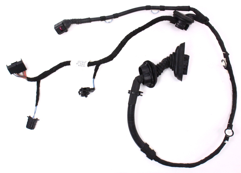 rear door wiring harness 06 08 audi a3 genuine 8p4 971 687 r audi a3 door wiring harness removal at Audi A3 Door Wiring Harness