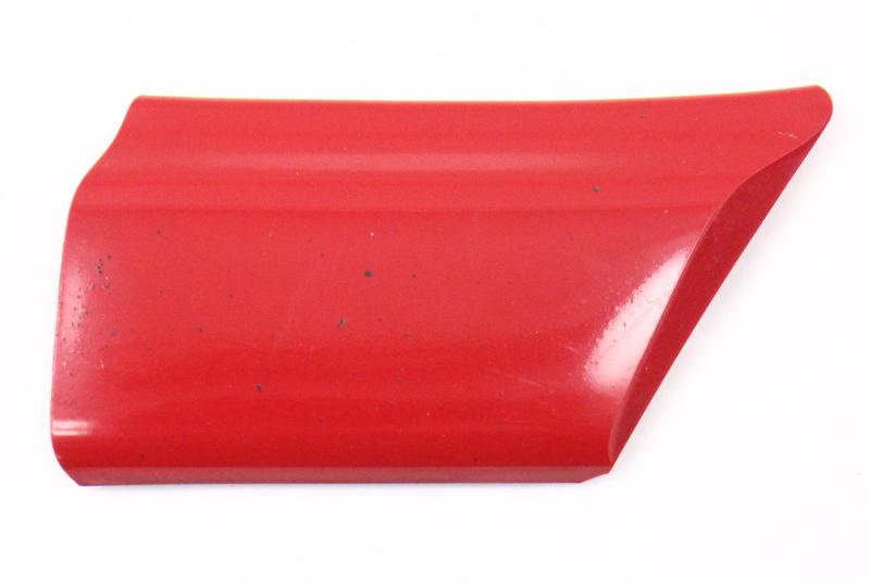 RH Small Fender Trim Molding 93-99 VW Jetta Golf GTI MK3 - LY3D - Tornado Red