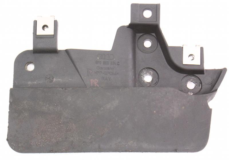 RH Rear Small Wheel Well Fender Liner Splash Trim 06-13 Audi A3 - 8P0 853 834 C