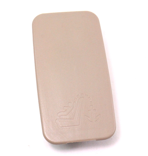 Rear Deck Child Safety Seat Hook Cover Audi A6 S6 C5 - Beige - 4B0 887 301 A