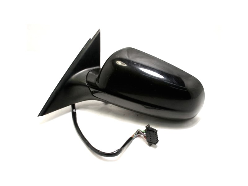 Driver Side View Exterior Door Mirror 98-03 VW Passat Power Black Heated Genuine