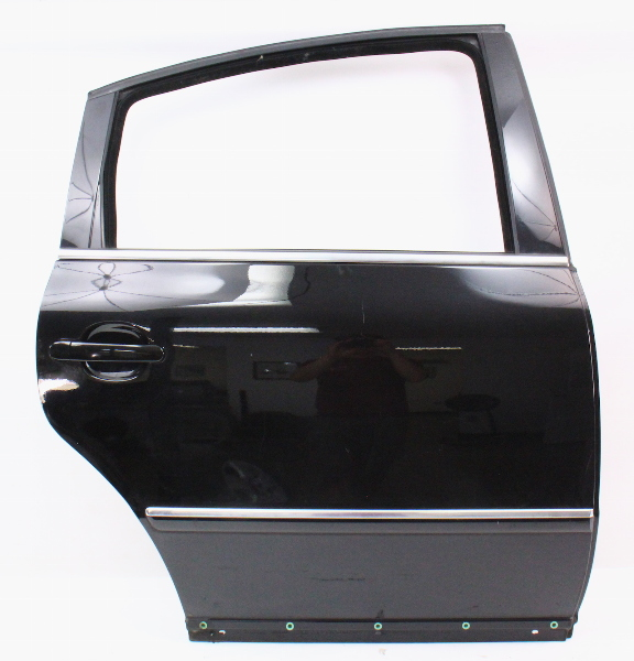 RH Rear Door Shell Skin 01-05 VW Passat B5.5 - Sedan - L041 Black - Genuine