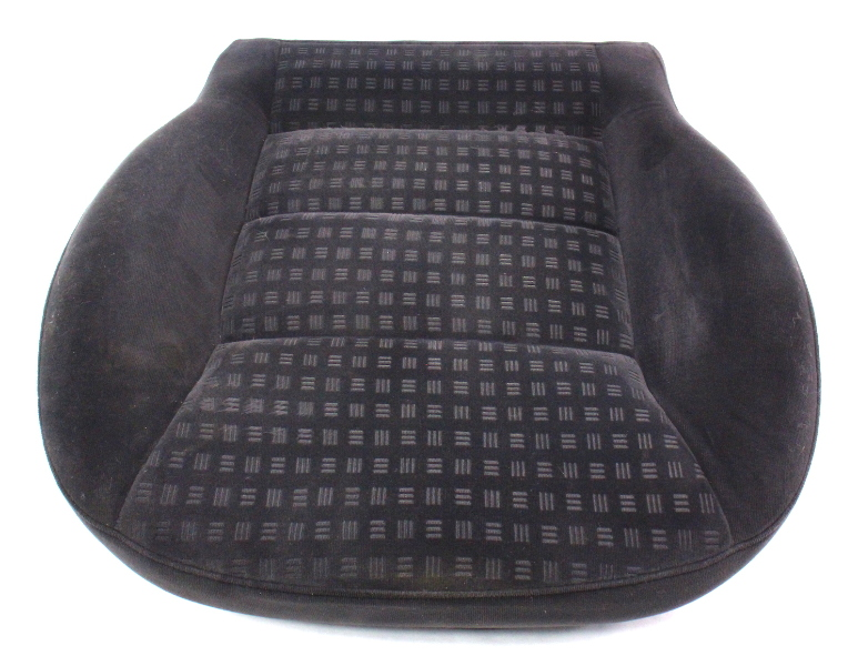 Front Seat Cushion Foam & Cover VW 01-05 Passat B5.5 - Charcoal Cloth - Genuine
